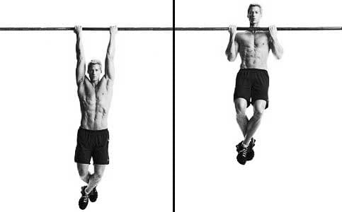 chin-ups back workout