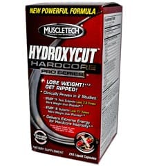 MuscleTech Hydroxycut Hardcore Pro Series - 30 Liquid Capsules